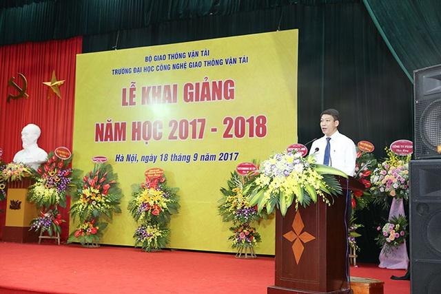 PGS.TS. Đào Văn Đông, Hiệu trưởng trường ĐH Công nghệ GTVT