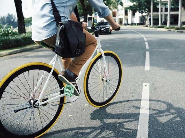 Đạp xe đi làm, công việc bớt căng thẳng - 1