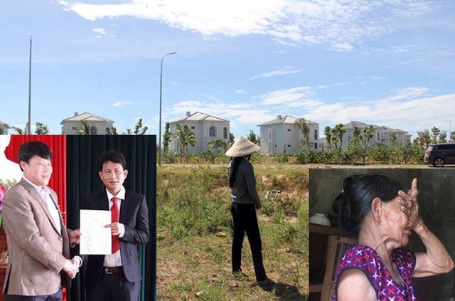 Cán bộ Phòng TN-MT huyện Lộc Hà phối hợp lừa dân mua đất vàng giá rẻ.