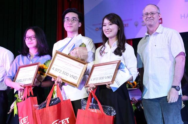 Nhóm Redbean giành giải thưởng Đội thi Tài năng nhất do khán giả bình chọn