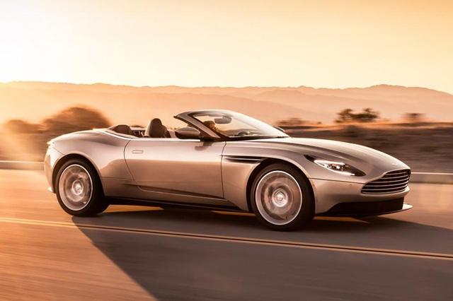 Aston Martin DB11 Volante mui trần chính thức ra mắt - 13