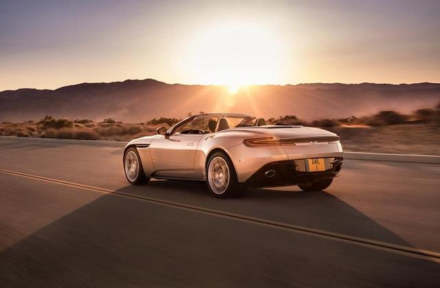 Aston Martin DB11 Volante mui trần chính thức ra mắt - 7