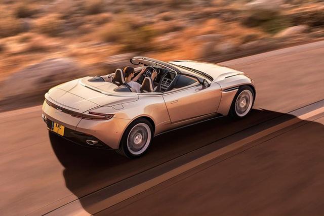 Aston Martin DB11 Volante mui trần chính thức ra mắt - 6