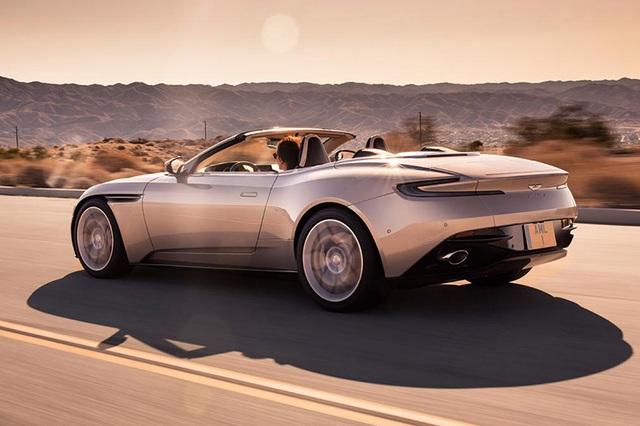 Aston Martin DB11 Volante mui trần chính thức ra mắt - 5
