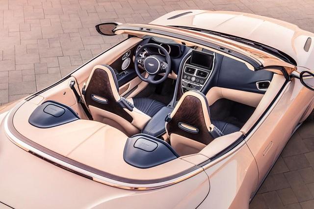 Aston Martin DB11 Volante mui trần chính thức ra mắt - 12
