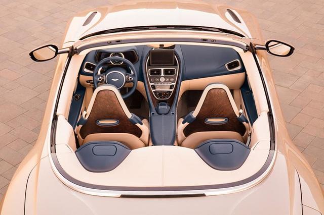 Aston Martin DB11 Volante mui trần chính thức ra mắt - 8
