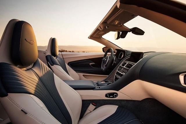 Aston Martin DB11 Volante mui trần chính thức ra mắt - 10