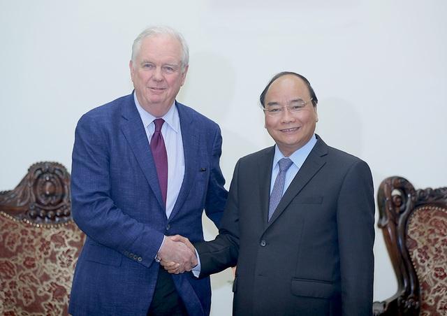 Thủ tướng Nguyễn Xuân Phúc tiếp GS. Thomas Vallely, Đại học Harvard (Hoa Kỳ)