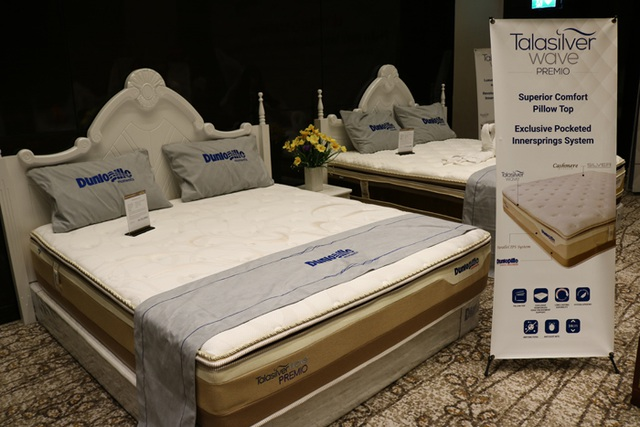 Dunlopillo là một trong những thương hiệu đệm cao cấp nhất tại thị trường Việt Nam.