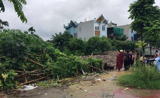 khu vực tây ô 19, phường Hạ Long, thành phố Nam Định nơi bị thu hồi xây dựng trường mầm non tư thục