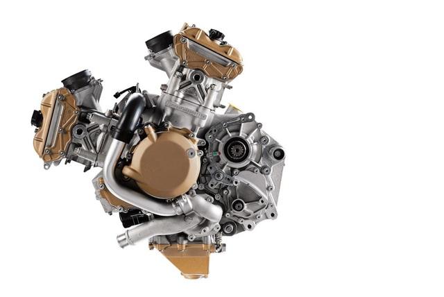 Động cơ V4 1.103cc trên Panigale 2018