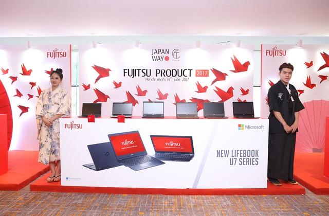 Loạt máy tính xách tay của Fujitsu tại VN