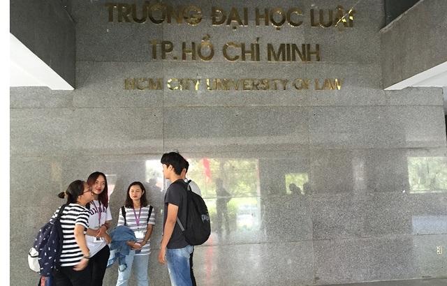 Sinh viên trường ĐH Luật TP.HCM