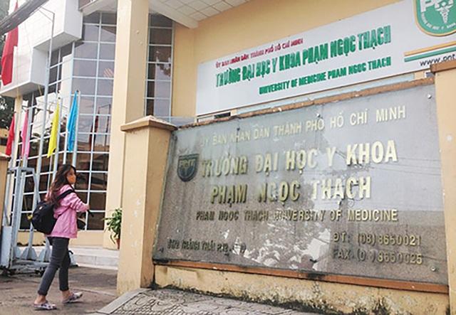Trường ĐH Y khoa Phạm Ngọc Thạch (ảnh internet)