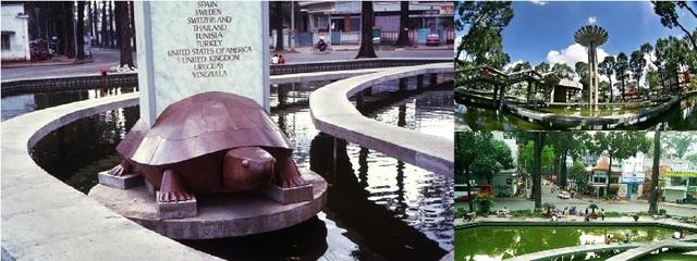 Mới đây, Hồ Con Rùa được thay áo mới càng khiến người dân thích thú.