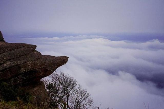 Biển mây chờ đón phượt thủ trên đỉnh Pha Luông.