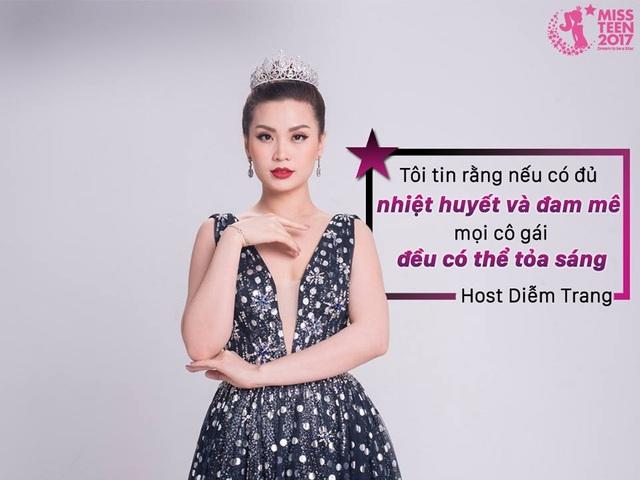 Diễm Trang - Á hậu 2 của cuộc thi Hoa hậu Việt Nam 2014 từng là Miss Teen 2010