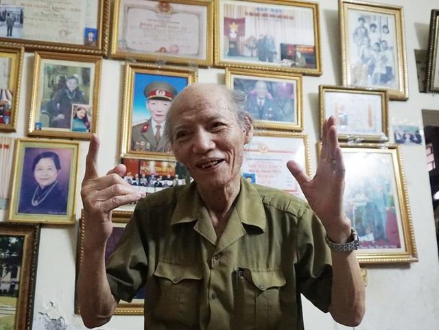 Sau 63 năm, những ngày khoét núi, ngủ hầm, mưa dầm, cơm vắt để làm nên chiến thắng Điện Biên Phủ vẫn rõ như in trong ký ức của người lính quân báo Nguyễn Việt Sỹ.