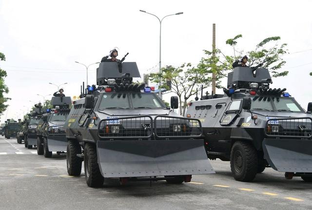 Các phương án an ninh bảo vệ Tuần lễ cấp cao đang được triển khai