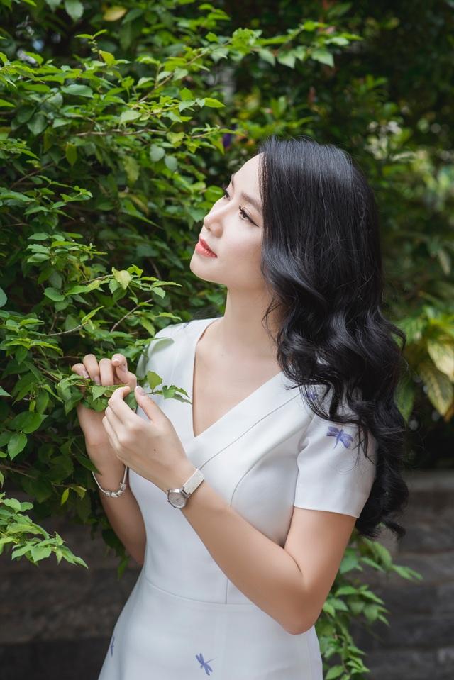 Với tôi, điều may mắn nhất trong hôn nhân của mình đó là có sự tôn trọng, yêu thương và ủng hộ ước mơ hết mực của ông xã, Lương Giang nói.