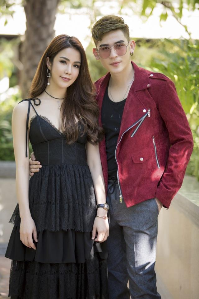 Với người mẫu Minh Trung…