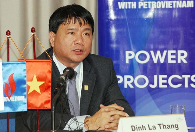 Ông Đinh La Thăng nhận kỷ luật Đảng vì những khuyết điểm, vi phạm trên cương vị Uỷ viên Ban Chấp hành Trung ương Đảng khoá X, Bí thư Đảng uỷ, Chủ tịch Hội đồng thành viên Tập đoàn Dầu khí quốc gia Việt Nam giai đoạn 2009 - 2011