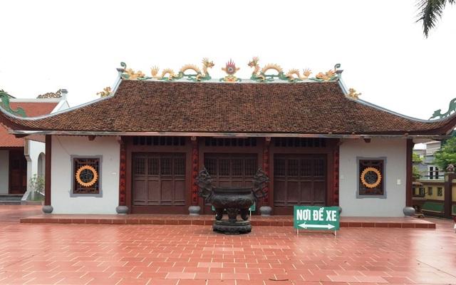 Đình làng Tống Xá, xã Yên Xá nơi xảy ra sự việc