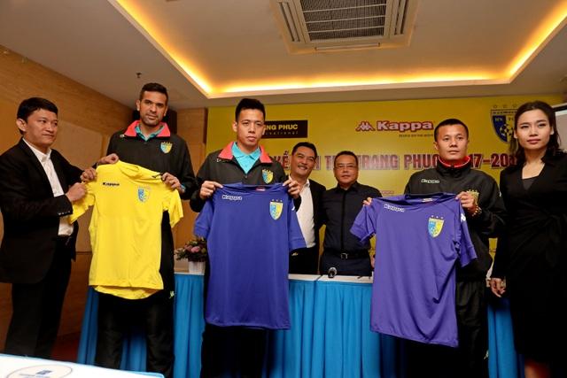 FC Hà Nội nhận tài trợ áo đấu từ Kappa, ảnh: Gia Hưng