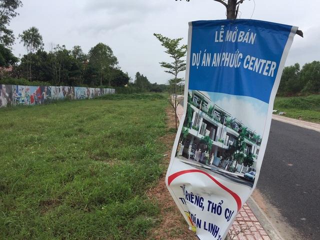 Thực tế những dự án đình đám đó chỉ là các thửa đất nông nghiệp, chưa được chuyển đổi mục đích sử dụng, chưa được phân lô tách thửa...
