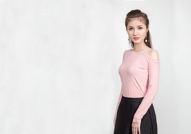 Cô gái Đỗ Thị Huệ giành giải Ngôi sao phong cách tại cuộc thi Miss Teen 2017.