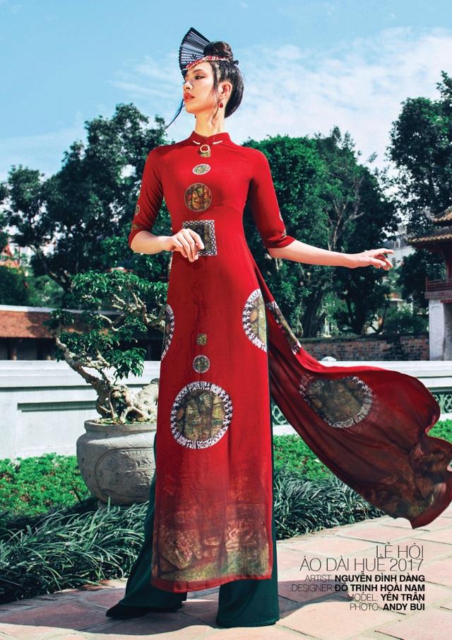 Một trong những mẫu thiết kế của NTK Đỗ Trịnh Hoài Nam