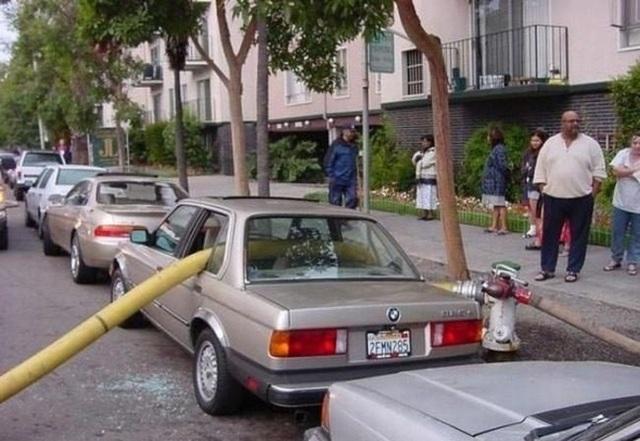 Dành cho xe đỗ chắn trụ chữa cháy