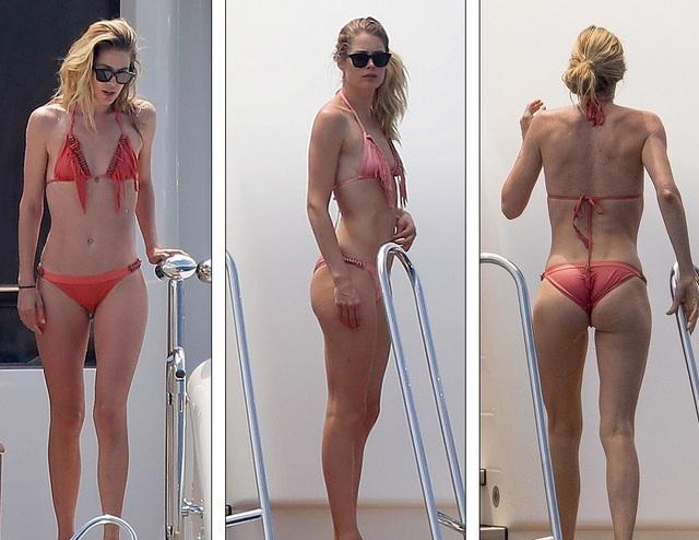 Người mẫu nổi tiếng của hãng Victorias Secret tới Pháp dự tiệc từ thiện của Leonardo DiCaprio và tranh thủ thư giãn