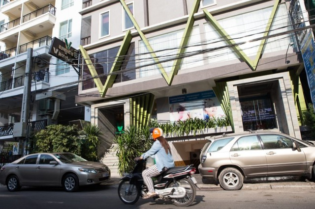 Khách sạn V Hotel tại Campuchia (Ảnh: Cambodia Daily)