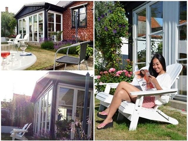 Ngôi nhà của nữ ca sĩ Đoan Trang hút mắt người xem ngay từ lần đầu tiên bởi sự gần gũi với thiên nhiên.
