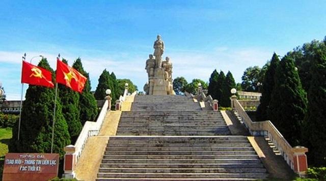 Di tích lịch sử Dốc Miếu nằm trên tuyến Hàng rào điện tử MC.Na ma ra (Ảnh: Trang Du lịch Quảng Trị)
