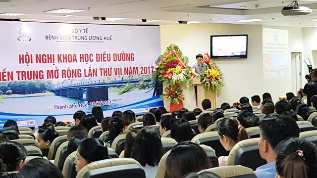 Th.s. Phạm Đức Mục, Chủ tịch Hội Điều dưỡng Việt Nam khẳng định qua hội nghị này sẽ tạo ra những bằng chứng về đổi mới thực hành và chăm sóc bệnh nhân tốt hơn cho ngành điều dưỡng