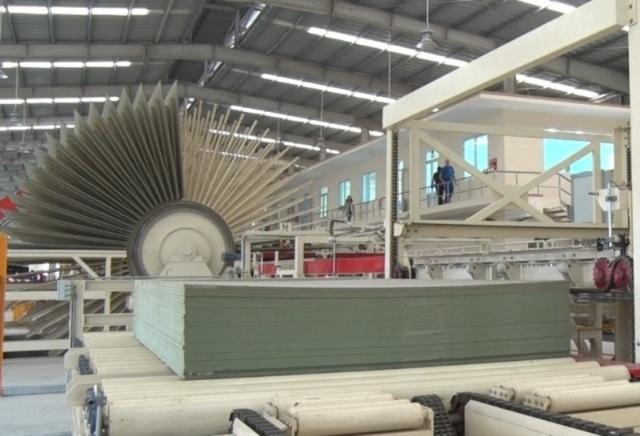 Dây chuyền sản xuất của Công ty MDF-VRG Quảng Trị