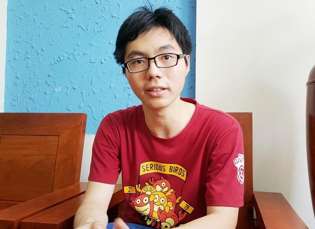 Chàng trai vàng Olympic Sinh học Quốc tế Trương Đông Hưng.