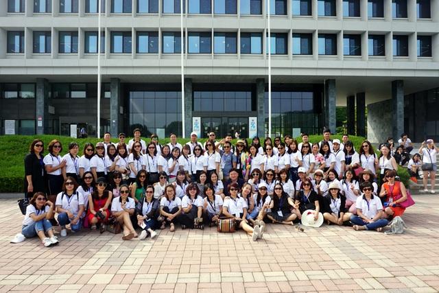 90 học viên háo hức trải nghiệm mô hình giáo dục mầm non tại Hàn Quốc.