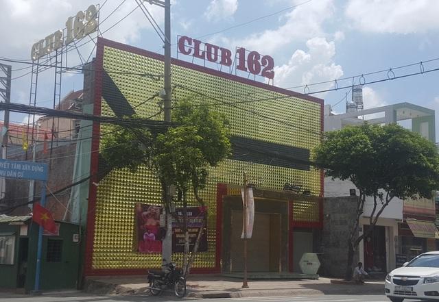 Tụ điểm ăn chơi, giải trí Club 162 vừa bị kiểm tra