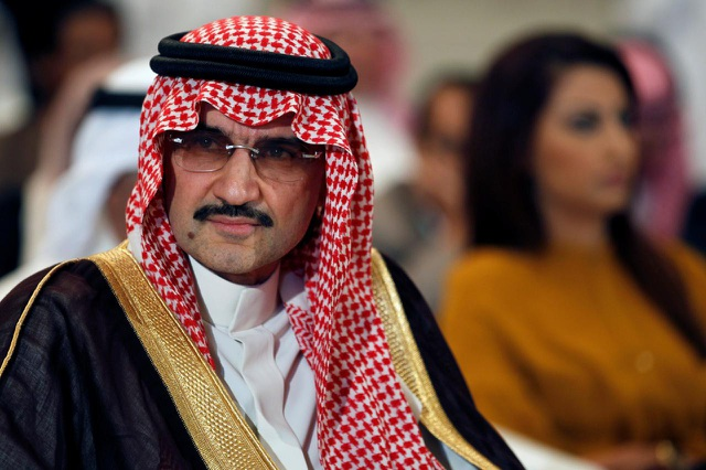 Hoàng tử tỷ phú Alwaleed bin Talal (Ảnh: Reuters)
