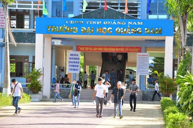 Điểm xét tuyển (không nhân hệ số) vào hệ Đại học tại Trường ĐH Quảng Nam là 15.5