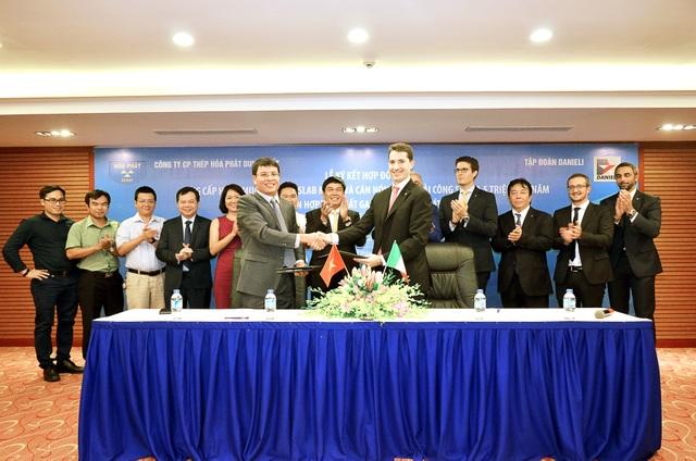 Thép Hòa Phát Dung Quất ký hợp đồng lắp đặt hạng mục sản xuất thép cuộn cán nóng hiện đại nhất thế giới - 1