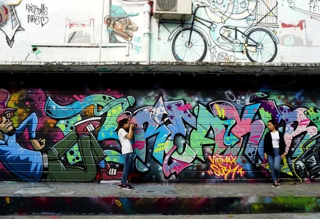 Đây là địa điểm để các bạn trẻ chụp hình ở Sài Gòn.