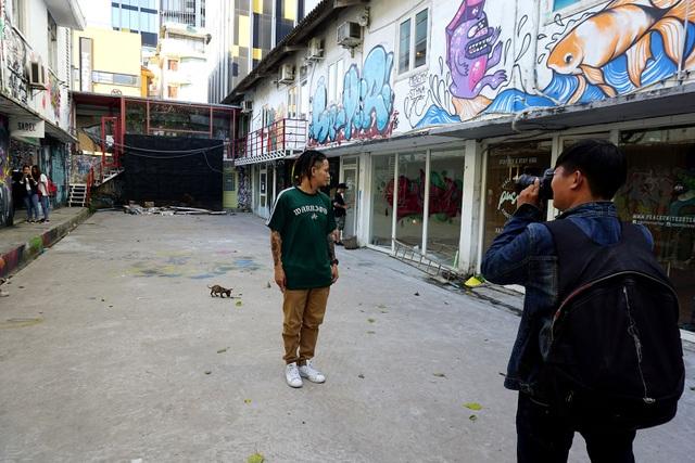 Đây là địa điểm sống ảo quen thuộc của giới trẻ Sài Gòn.