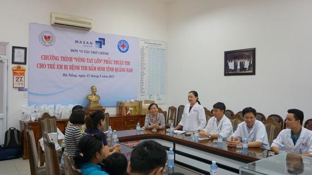 Quảng Nam: Masan tài trợ chương trình mổ đục thủy tinh thể và mổ tim cho người nghèo - 2