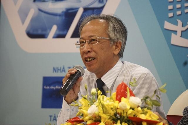 Ông Nguyễn Long - Chủ tịch Hội đồng Sơ khảo Nhân tài Đất Việt 2017 - đánh giá cao chất lượng sản phẩm CNTT dự thi năm nay.