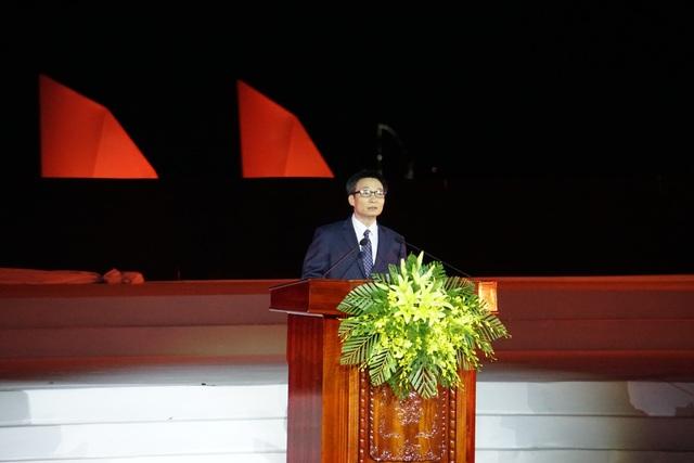 Phó Thủ tướng Vũ Đức Đam phát biểu tại lễ khai mạc