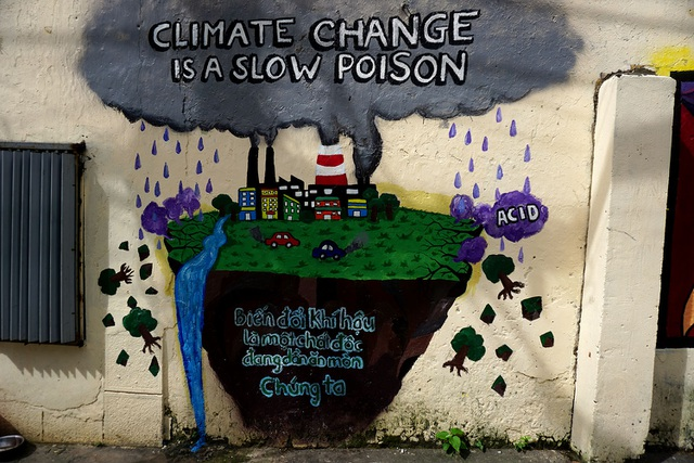 Thông điệp đẹp trên những bức tường cũ kỹ ở Sài Gòn - 11